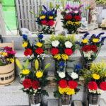 お花のバンチ今年も元気に営業中です♪