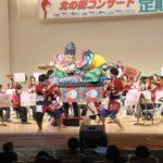 第53回青森山田高校の吹奏楽部定期演奏会に弊社のねぶたが出演しました