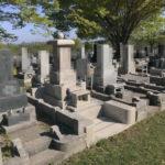 淡いピンク色が魅力の新規墓石が完成。国産万成石で施工、青森市月見野霊園にて