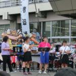 青森県平内町の夏祭りに弊社ねぶたも出陣しました。東津軽郡平内町にて